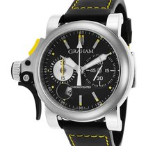 Graham Chronofighter RAC Trigger Black Rush in Steel