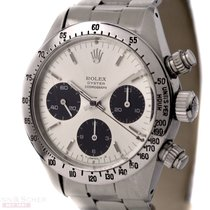 Rolex Vintage Daytona Cosmograph Ref-6265 SIGMA Dial Stainless...