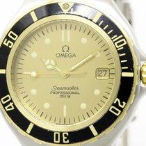 Omega Polished Omega Seamaster Professional 200m Quartz Mens...