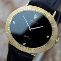 Rolex Cellini 18k Solid Gold Swiss Made Mens Luxury Dress...