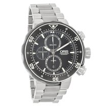 Oris Pro Divers Mens Black Dial Swiss Automatic Chronograph...