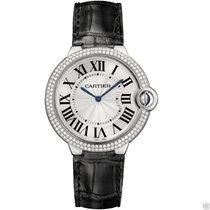 Cartier Ballon Bleu 40mm we902056 18kt White Gold Diamond...