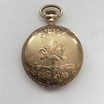 Waltham 1907 American Waltham Solid 14K Gold Pocket Watch
