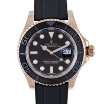 Rolex Oyster Perpetual Yacht-Master Mens Automatic Watch 116655