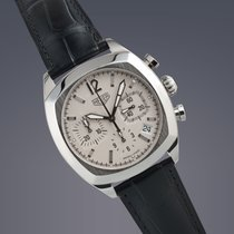 Heuer Monza re-edition stainless steel automatic chronograph...