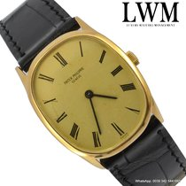 Patek Philippe Ellipse 3546 oval yellow gold 18KT manual very...