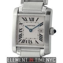 Cartier Tank Collection Tank Francaise Stainless Steel...