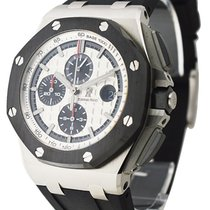 Audemars Piguet Royal Oak Offshore in Steel with Black Ceramic...