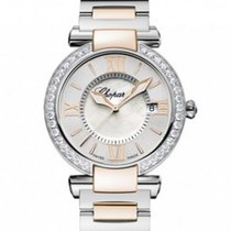 Chopard IMPERIALE 36 mm Watch 18k Rose Gold Stainless Steel