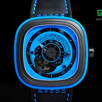 Sevenfriday P1/04 Blue & Black Pvd 47mm