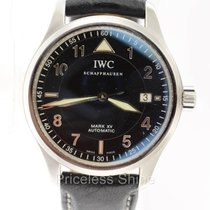 IWC Pilot 3253 Mark Xv Automatic Date Die Fliegeruhr Black...