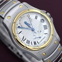 Cartier Santos Ronde GMT RARE of 150 pieces B&P