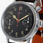 Hanhart aviator's single button chronograph of the German...