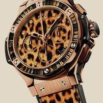 Hublot Big Bang 41 MM Leopard Gold