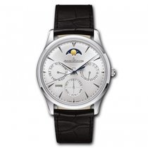 Jaeger-LeCoultre [NEW] Master Ultra Thin Perpetual Silver Dial...