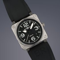 Bell & Ross BR03-92 stainless steel automatic watch