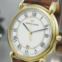 Maurice Lacroix Herrenuhr Classique Vergoldet Saphir Glas 69810