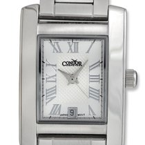 Condor Classic Stainless Steel Womens Watch Date Silver Dial...