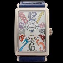 Franck Muller Color Dreams 18k White Gold Gents 1400SC
