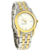 Gucci 5500 Xl Series Mens Two Tone Swiss Quartz Dress Watch...