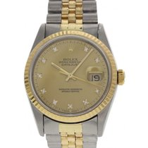 Rolex Oyster Perpetual Datejust 18K YG & SS 16233G