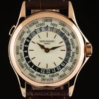 Patek Philippe 18k Rose Gold World Time Gents Watch 5110R