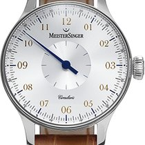Meistersinger CIRCULARIS WHITE DIAL - New Model