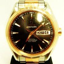 Omega 18ct Rose Gold & Stainless Steel Seamaster Aqua Terra