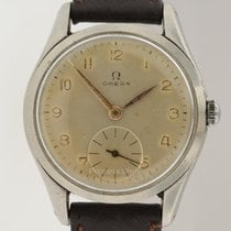 Omega Vintage Steel Manual Winding  Small Seconds Subdial 36mm