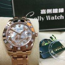 Rolex Cally - Pearlmaster Rose Gold 81315  GOLDUST DREAM NRVI