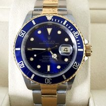 Rolex Oyster Submariner Gold Steel Bleu Dial 40 mm (1994)