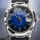 Rolex Oysterdate Precision 6694 Stainless Steel Blue Dial C...