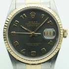 Rolex Datejust 36mm Two Tone Jubilee Fluted Bronze Rolex Dial