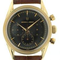 Universal Genève Compax 184.440 oro giallo manuale art. Ug27