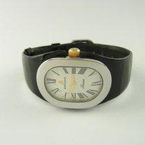 Bertolucci Serena Lady Quarz Uhr Watch Edelstahl Lacklederband...