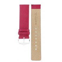 Hirsch Aqualino Pink Strap 20mm