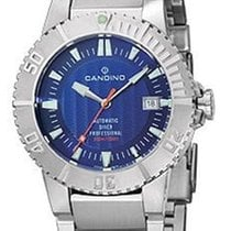 Candino Automatic 300 Meter Professional Dive Watch - Blue...