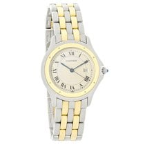 Cartier Panthere Cougar Series Ladies 18K Swiss Quartz Watch...
