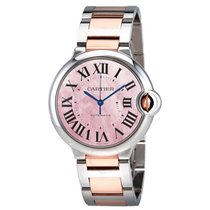 Cartier W2BB0011 Ballon Bleu Automatic - On Steel and Rose...