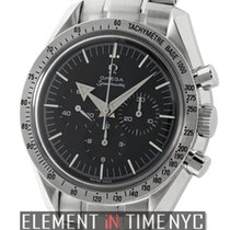 Omega Speedmaster Broad Arrow Chronograph Stainless Steel...