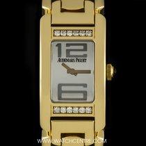 Audemars Piguet 18k Y/Gold Silver Mirror Dial Promesse...