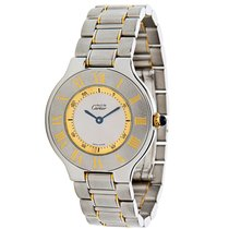 Cartier 21 Stainless Steel & Gold Plated Quartz  W10072R6