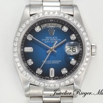 Rolex Day Date Platin 950 Diamanten Automatik 36mm