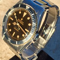 Rolex Submariner 6536/1 Tropical Brown Full Set Box and Paper