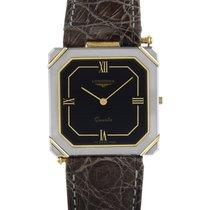 Longines XL 24 Men's Stainless Steel Square Quartz Watch...