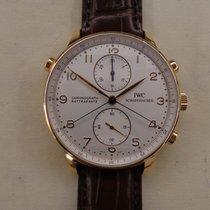 IWC Portuguese Cronograph rattrapante rose gold