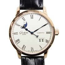 Glashütte Original New  Senator Panorama Date 18k Rose Gold...