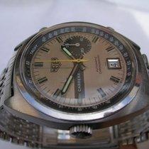 Heuer Carrera Chronograph 1553 Buren 15 anni '70