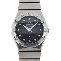Omega Constellation 27 Quartz Blue Dial
