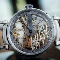 """IWC Schaffhausen marriage watch skeletonized """"Boat""""..."""